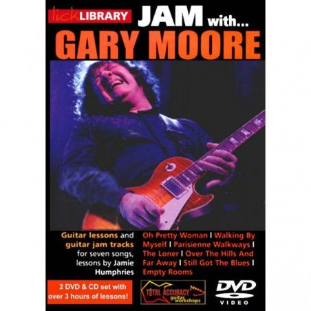 MSG Gary Moore GTR Book -...