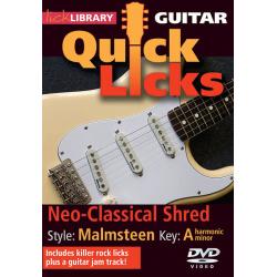 MSG Quick Licks Yngwie Malmsteen GTR - Manual Chitara MSG - 1