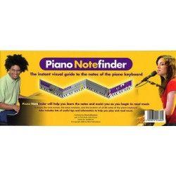 MSG Piano Notefinder Visual Keyboard - Manual Pian MSG - 1