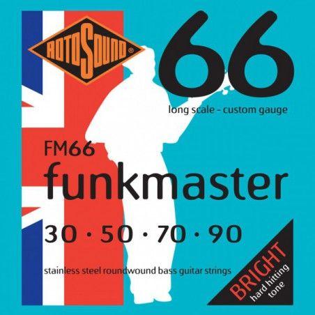 Rotosound Funkmaster - Set Corzi Chitara Bass 30-90 Rotosound - 1