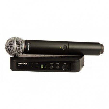 Shure BLX24E/SM58-K3EE - Sistem Wireless Cu Microfon Shure - 1
