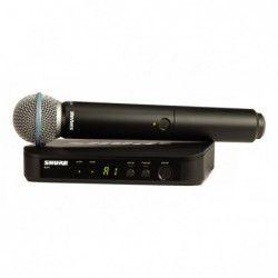 Shure BLX24E/B58-K3EE - Sistem Wireless Cu Microfon Shure - 1