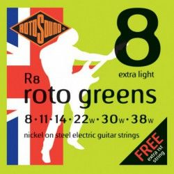Rotosound Roto Greens R8 -...