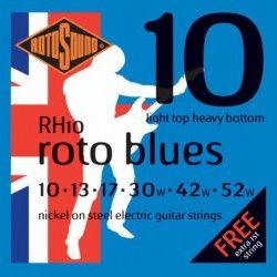 Rotosound Roto Blues RH10 - Set Corzi Chitara Electrica 10-52 Rotosound - 1