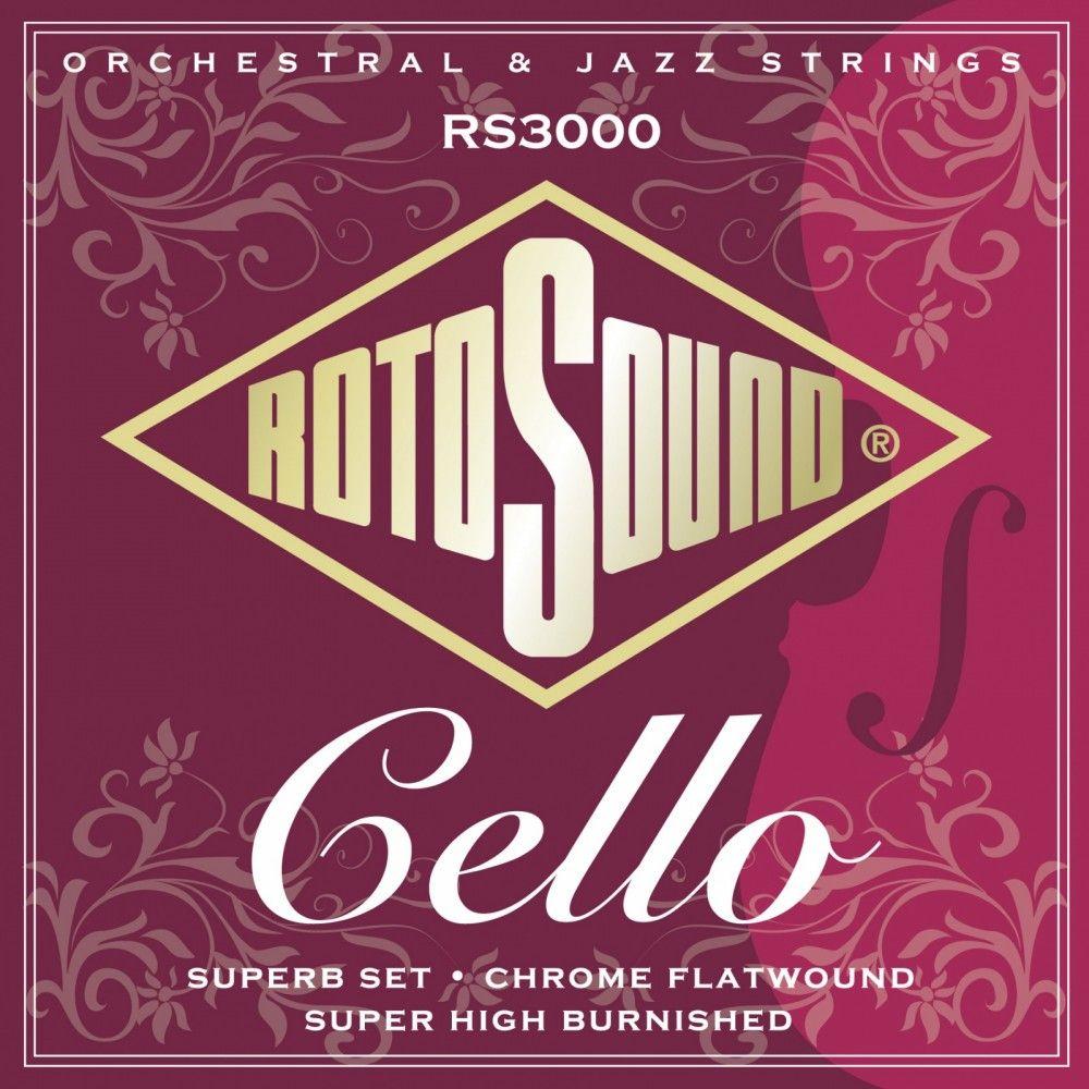 Rotosound Cello Superb RS3000 - Set corzi violoncel Rotosound - 1