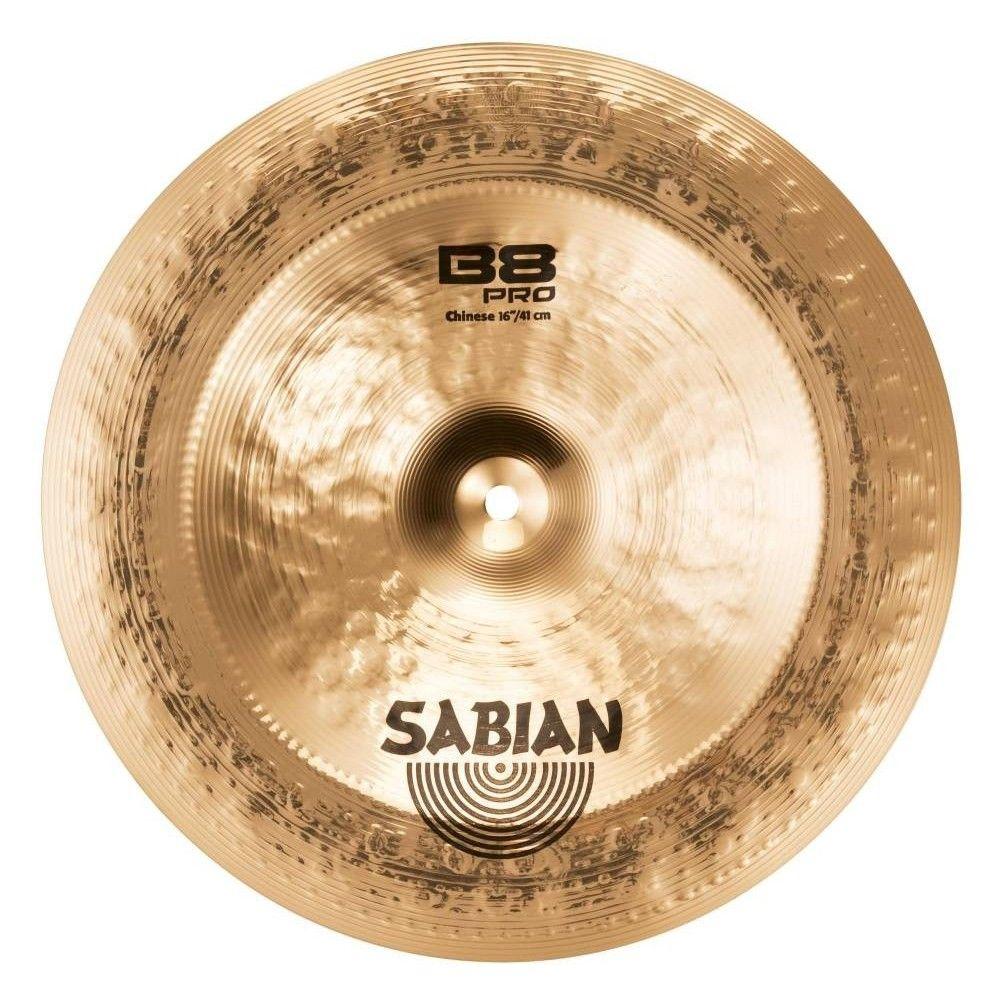 "Sabian 16"" B8 Pro Chinese - Cinel Sabian - 1"