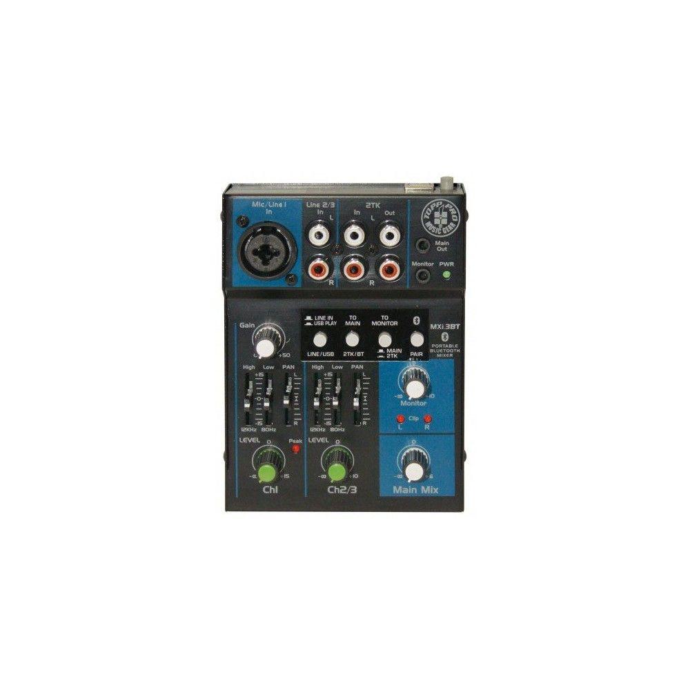 Topp Pro MXI3BT - Mixer Neamplificat cu Bluetooth Topp Pro - 1
