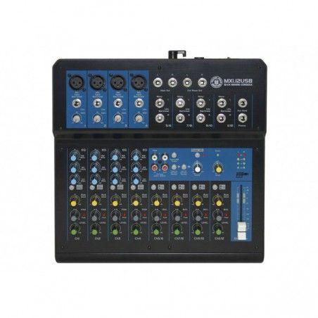 Topp Pro MXI12USB - Mixer Neamplificat cu USB Topp Pro - 3