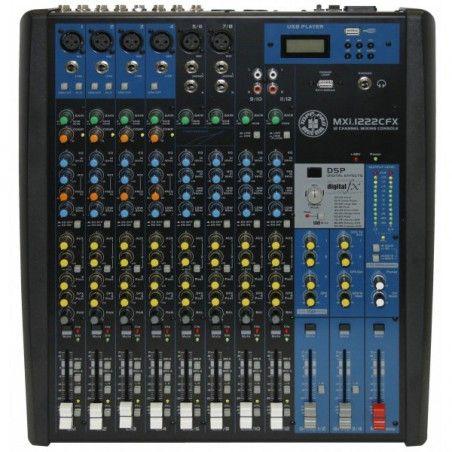 Topp Pro MXI1222CFX - Mixer Neamplificat cu Efecte Topp Pro - 1
