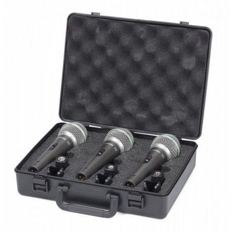 Samson Q6 3 Pack - Pachet microfoane dinamice Samson - 1