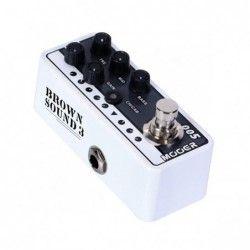 MOOER M005 Brown Sound 3 - Pedala preamp cu efect chitara Mooer - 3