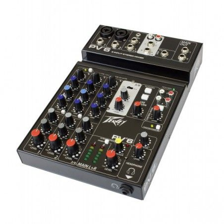 Peavey PV6 - Mixer Peavey - 1