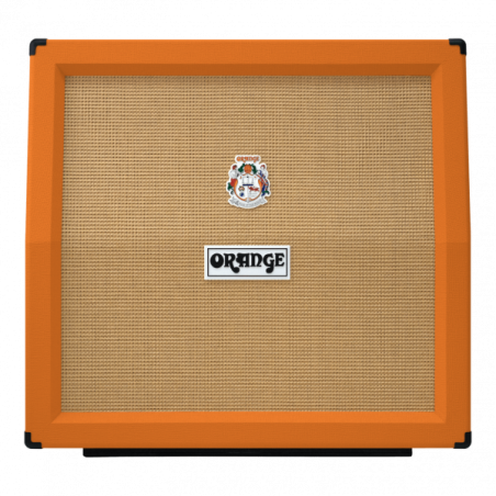 Orange PPC412AD 4x12 Angled- Cabinet Chitara Orange - 1