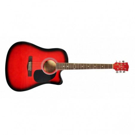 Pulse HW41CE-201RDS - Chitara Electro-Acustica PULSE Guitars - 1
