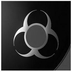 """Remo DynamO 3"""" Biohazard - Cerc argintiu toba mare Remo - 1"""