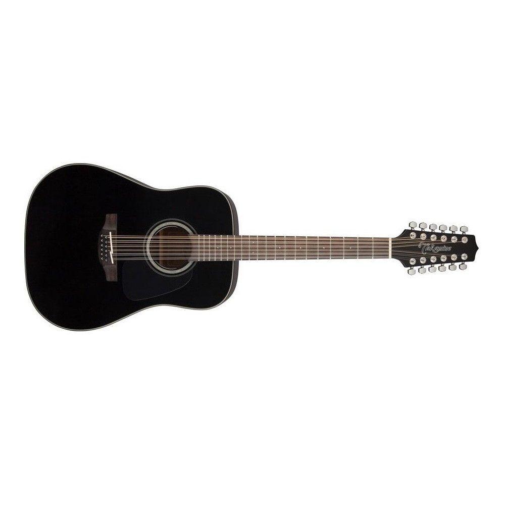 Takamine GD30-12 Black - Chitara acustica Takamine - 1