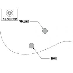 Ibanez PSM10-BK miKro Paul Stanley - Chitara Electrica Dimensiune Redusa Ibanez - 6